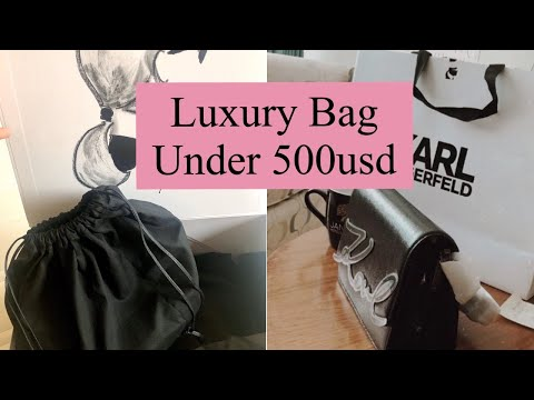 Best Affordable Designer Bag (KARL LAGERFELD) Under 500usd