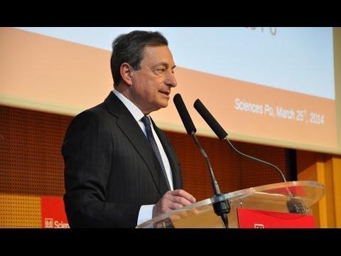 Mario Draghi à Sciences Po