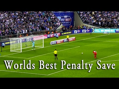 The Worlds Best Goalkeeper Penalty Save - Wait for it!!!