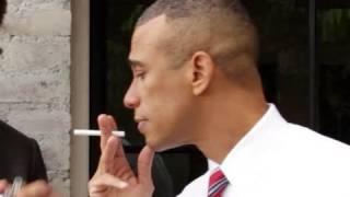 Obama Still Smokin': A Modern U.S. President