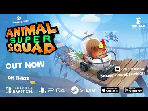 Animal Super Squad Launch Trailer