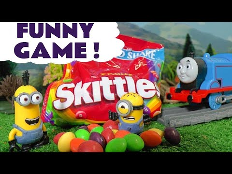Thumbnail: Learn Colors with Minions Candy Prank Johny Johny Yes Papa Nursery Rhymes Thomas and Friends TT4U