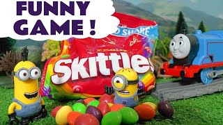 Learn Colors with Minions Candy Prank Johny Johny Yes Papa Nursery Rhymes Thomas and Friends TT4U
