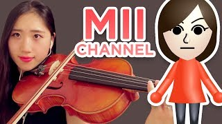 Mii Channel Music but it's played on a viola