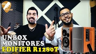 Monitores Edifier R1280T - Unboxing