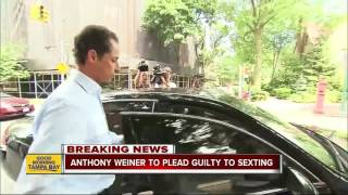 Anthony Weiner to plead guilty to sexting