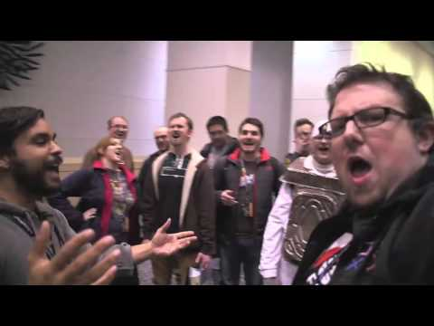 Mega64 Podcast 388 - Lonely Horseman Live Performance at C2E2 2016