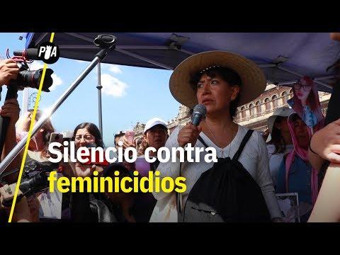 Marchan en silencio en CDMX contra violencia de género