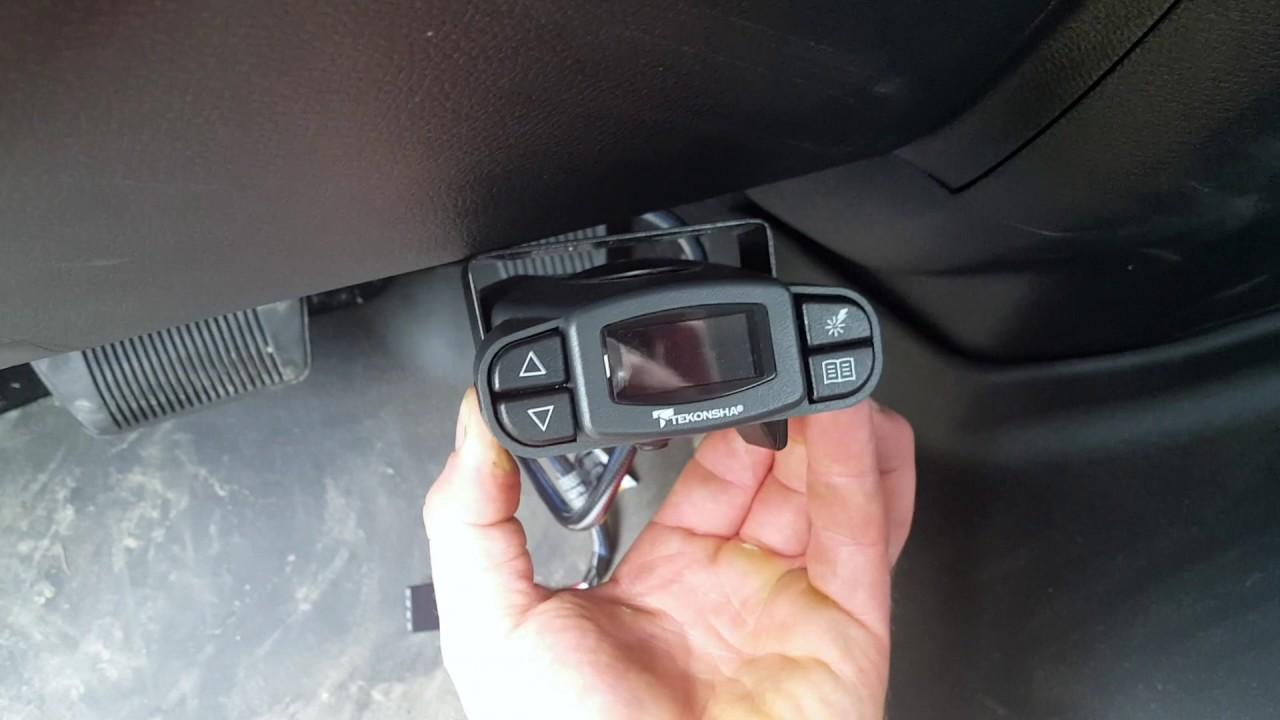 installing plug play brake controller ram 1500 [ 1280 x 720 Pixel ]