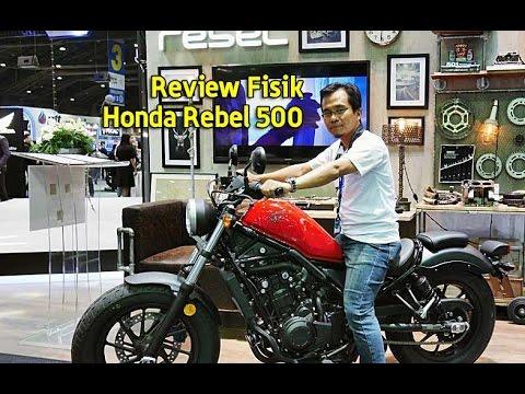 2016 Honda Rebel >> Review Fisik Honda Rebel 500 - YouTube