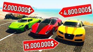 БИТВА АВТОУГОНЩИКОВ В ГТА 5! УКРАЛ САМЫЕ ДОРОГИЕ МАШИНЫ НА 120.000.000$ БИТВА ВОРОВ В GTA 5!
