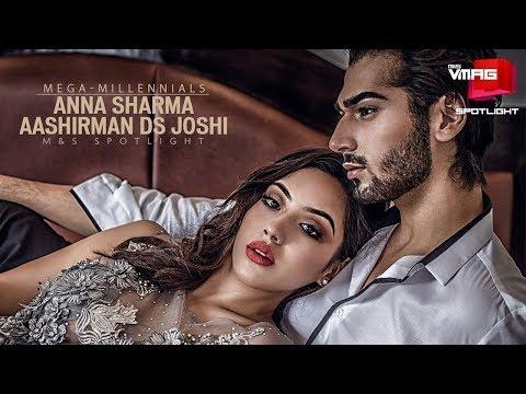 AASHIRMAN DS JOSHI & ANNA SHARMA | GANGSTER BLUES COUPLE | MEGA-MILLENNIALS | M&S VMAG
