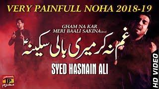 Gham Na Kar || Syed Hasnain Ali || New Noha 2018 || TP Moharram