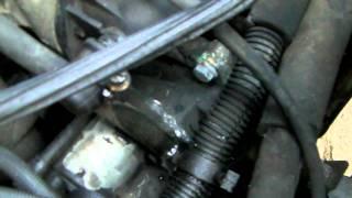 Bruit de l'evasion après surchauffe du moteur