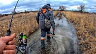 Рыбалка на Ультралайт весной на Болотах реки Северский Донец