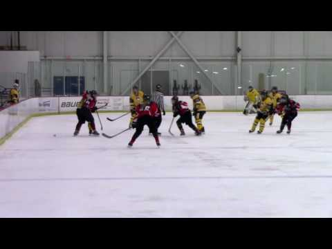 10-01-16 Chicago Fury U19's vs Pittsburgh Penguins Elite