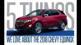 2018 Chevrolet Equinox: 5 Things We Love   Frost GM, Brampton Ontario