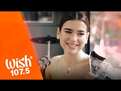 Dua Lipa performs Blow Your Mind  on Wish 1075 Bus