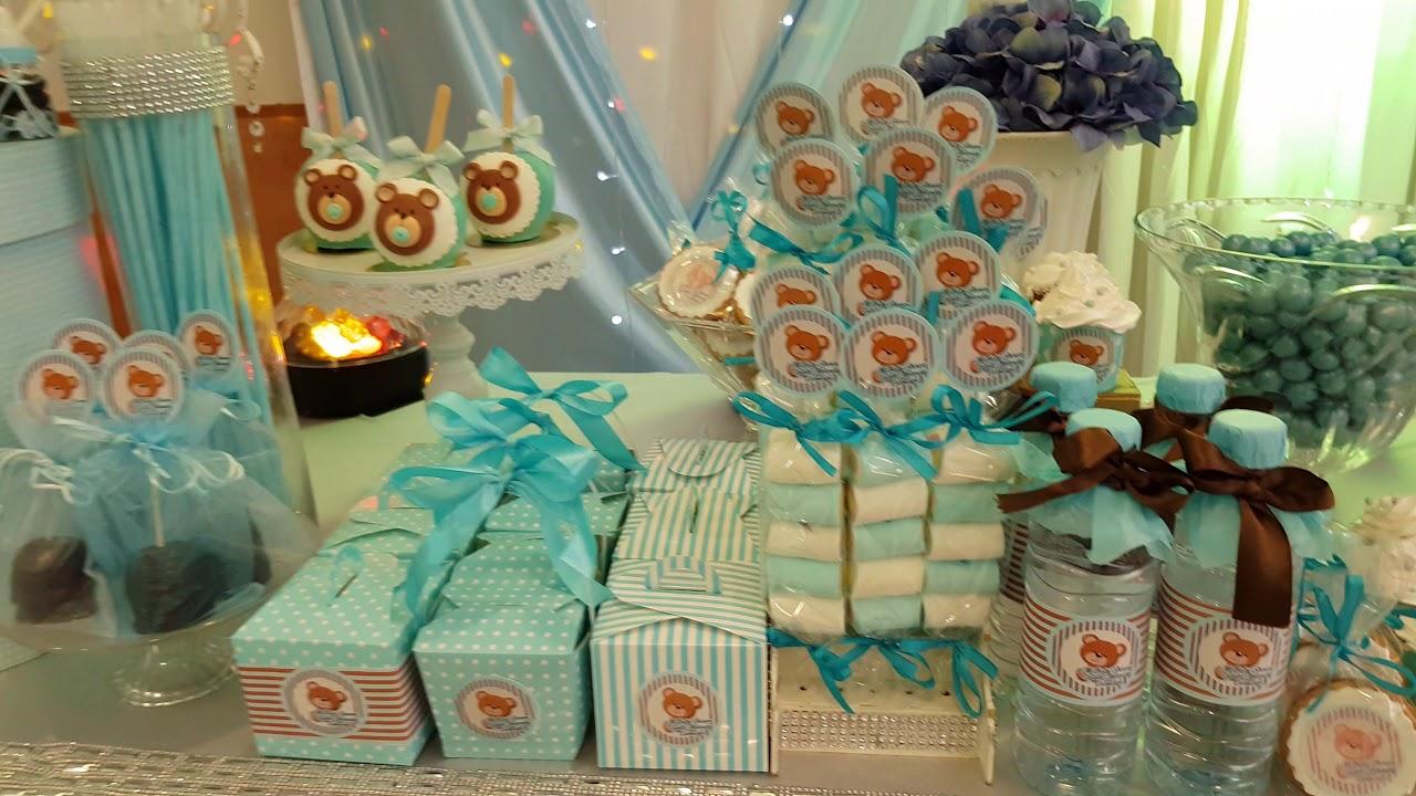 Ideas baby shower ositos decoracion fiestas youtube - Ideas decoracion fiestas ...