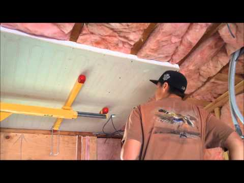 RayMagic Radiant Cooling and Heating Ceiling Panels (Installation)
