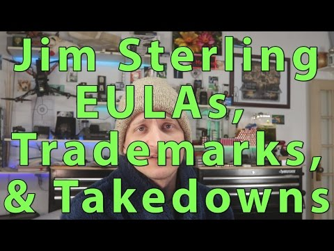 Jim Sterling's EULA / Trademark claim