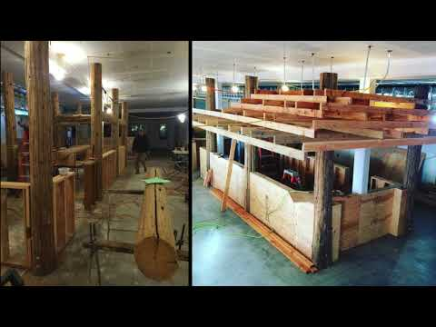 McMenamins Kalama Harbor Lodge, December 2017 Work in Progress