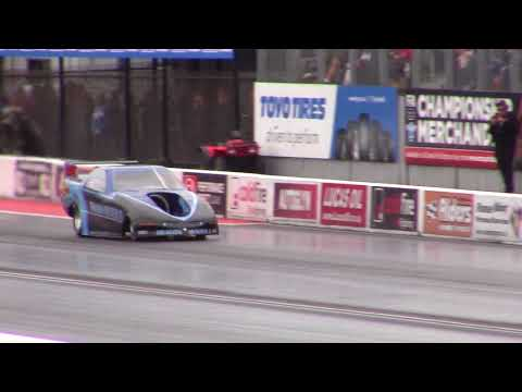 Dragon Hunter II Jet Car - Santa Pod European Finals 2017