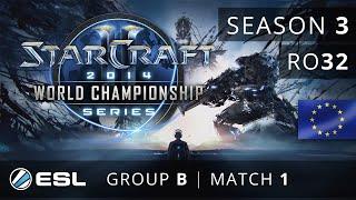 ToD vs. Bunny (PvT) - Group B Ro32 - WCS Europe 2014 Season 3 - StarCraft 2