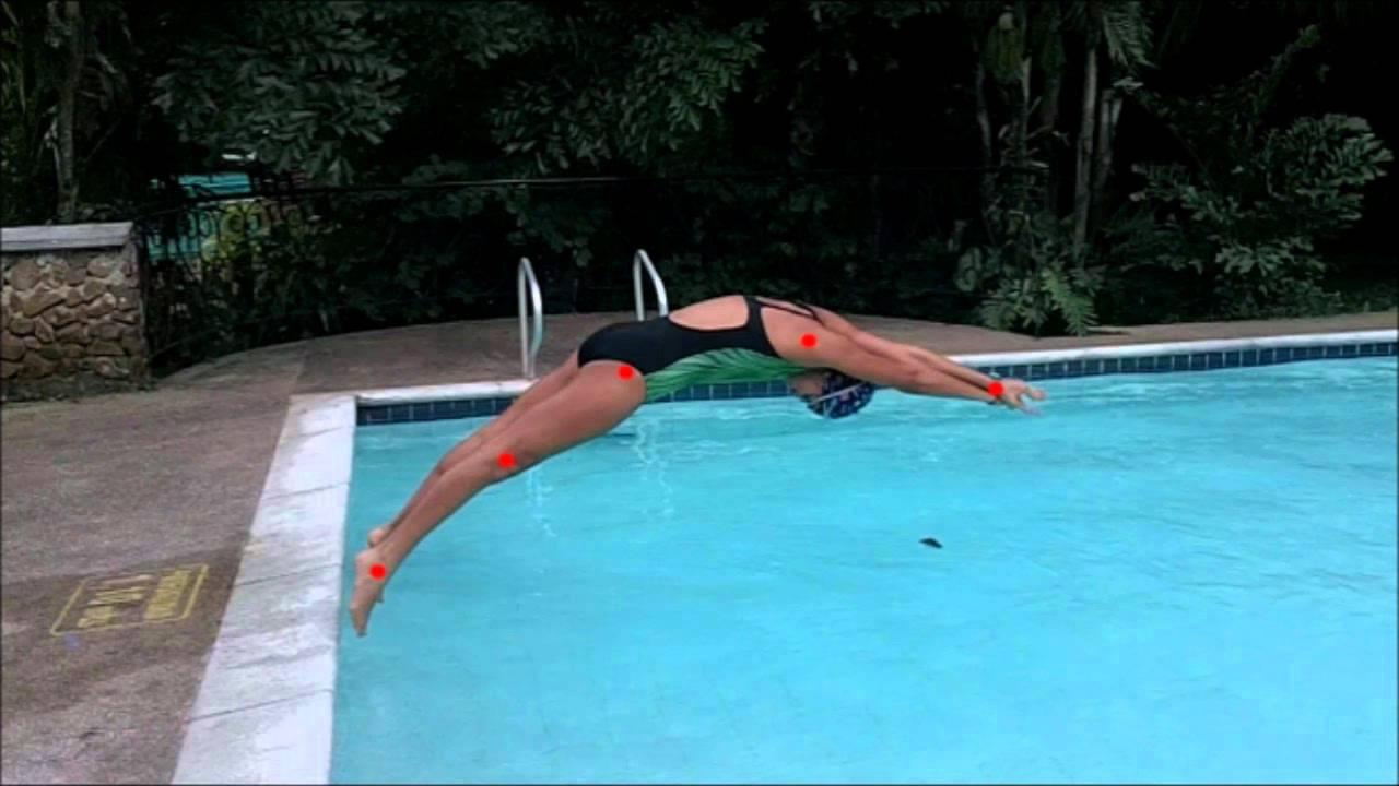 Analisis gestual de largada en natacion youtube for Planos de piletas de natacion