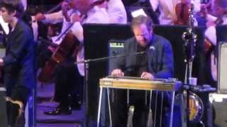 Amos Lee w LA Philharmonic--Hollywood Bowl--7 17 15--Violin