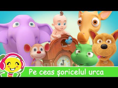 Pe ceas soricelul urca  Cantece pentru bebelusi – CanteceGradinita – Cantece pentru copii in limba romana