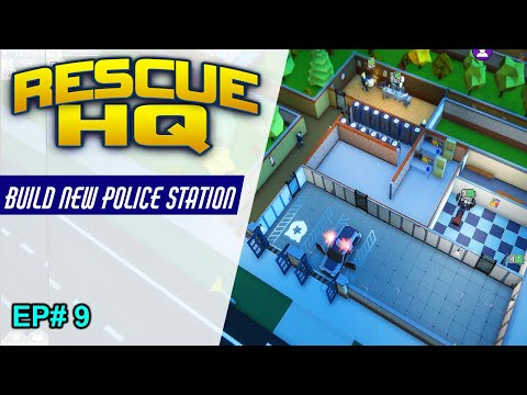 Build New Police Station // walkthrough #9 // Rescue Hq - The Tycoon gameplay |