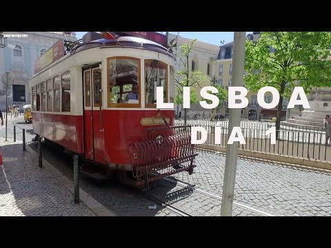 Lisboa Barrio Alto y Castillo de San Jorge Chiado. Vlog día 1