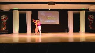 Ricardo Vega & Karen Forcano Chile- Argentina - World Latin Dance Cup 2012 Cabaret Couple 1st  Place