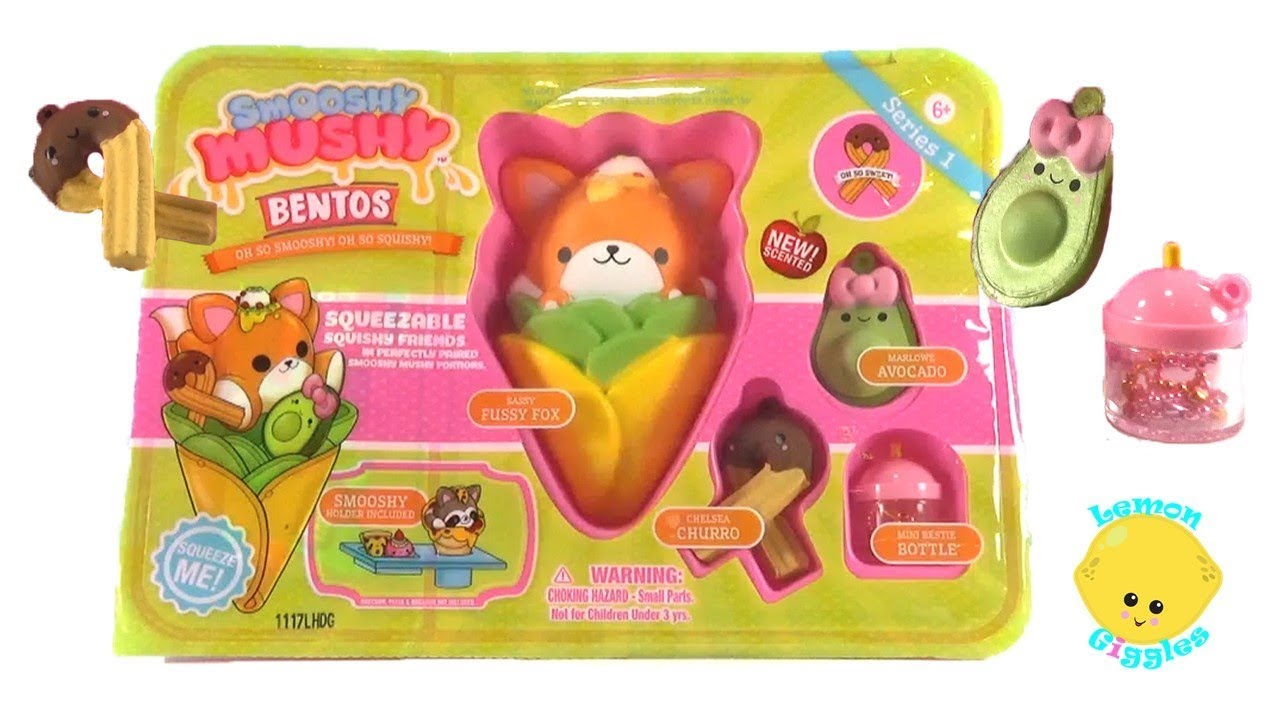 Smooshy Mushy Box : Smooshy Mushy Bento Box Super Squishy Kawaii Squishies - YouTube
