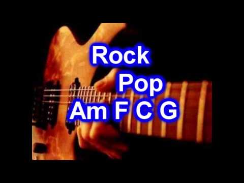 Backing Track - Rock Pop - C major