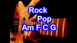 Backing Track - Rock Pop - C major