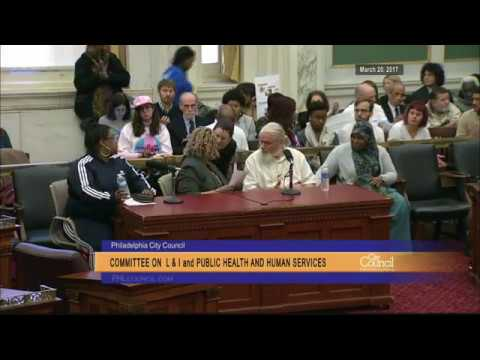 Joint Committee on Licenses and Inspections, Public Health and Human Services 3-20-2017