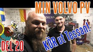 Min älskade VOLVO PV Del 20 PV N Lämnar Garaget