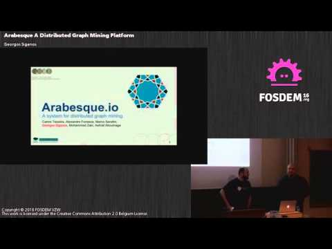 FOSDEM 2016 - Aw1126 - Rabesque A Distributed Graph Mining Platfor