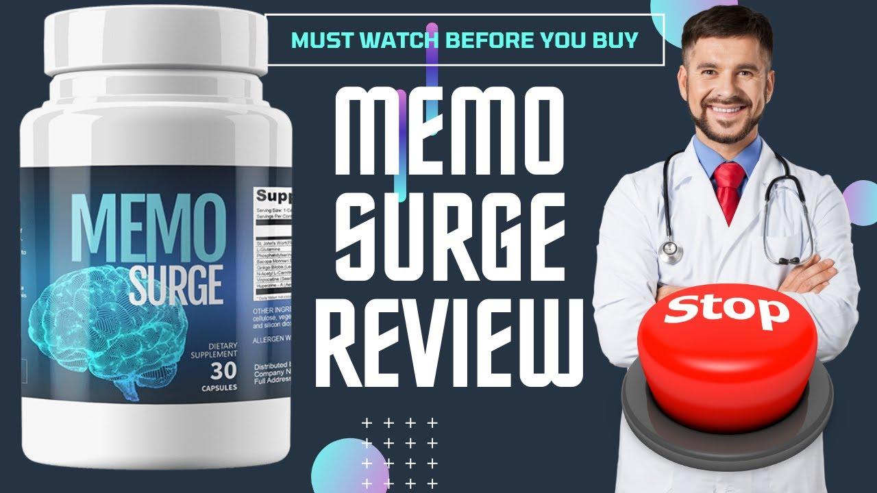 Memo Surge Review [100%_Legit] Boost Brain Function & Improve Memory