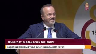 Başkan Yardımcımız Yusuf Günay'ın Divan Kurulu Konuşması