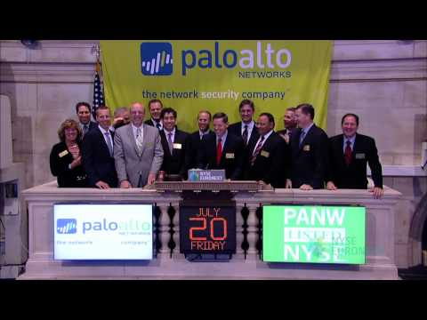 Palo Alto Networks Lists IPO on the NYSE