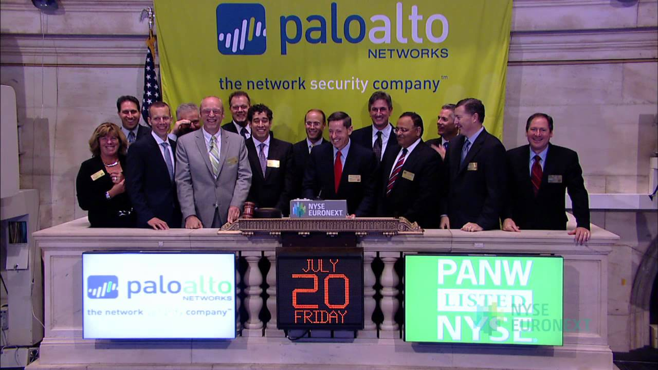 Palo alto networks lists ipo on the nyse youtube palo alto networks lists ipo on the nyse biocorpaavc