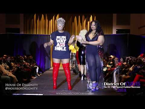 Plus Size Fashion with an old school hip hop flare! House Of Diggnity. http://bit.ly/2HOChP6