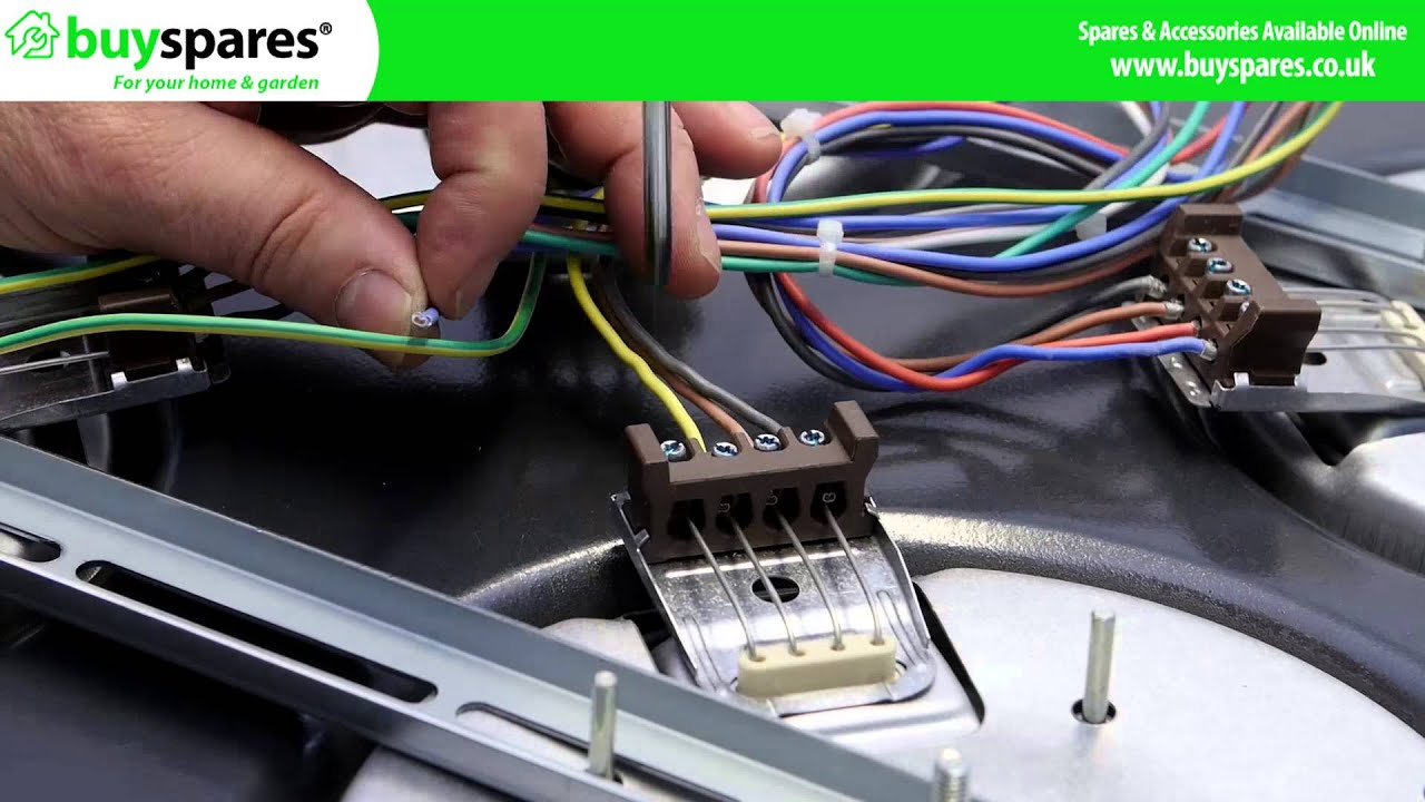 maxresdefault how to replace an electric cooker hot plate youtube electric hot plate wiring diagram at alyssarenee.co
