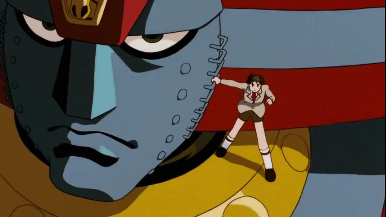 Giant Robo The Animation 1992 Intro Scene 1080p Youtube