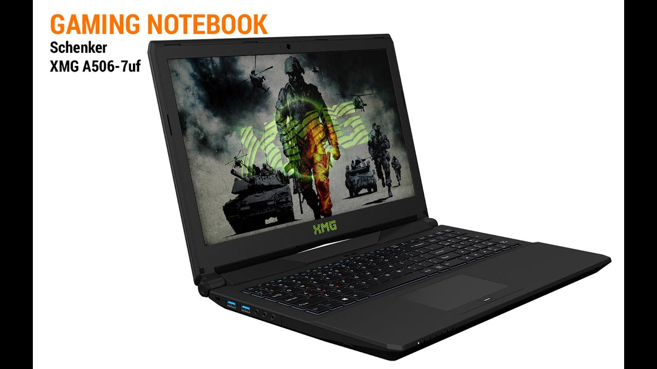 Gaming Notebooks Test