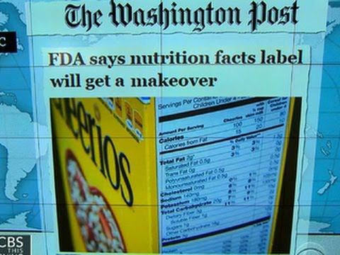 Headlines at 8:30: FDA to update nutrition food labels
