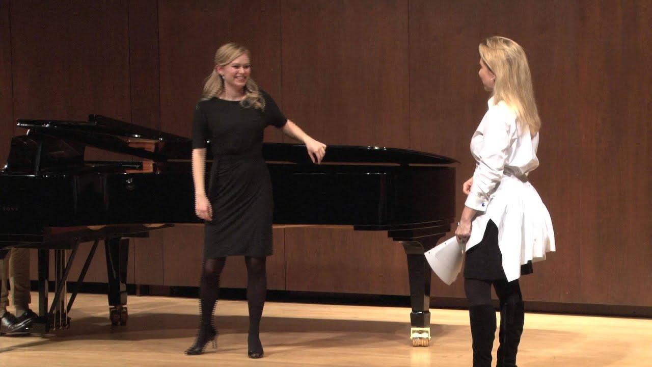 Joyce DiDonato Master Class, January 25, 2013: Deanna Breiwick, En proie à la tristesse